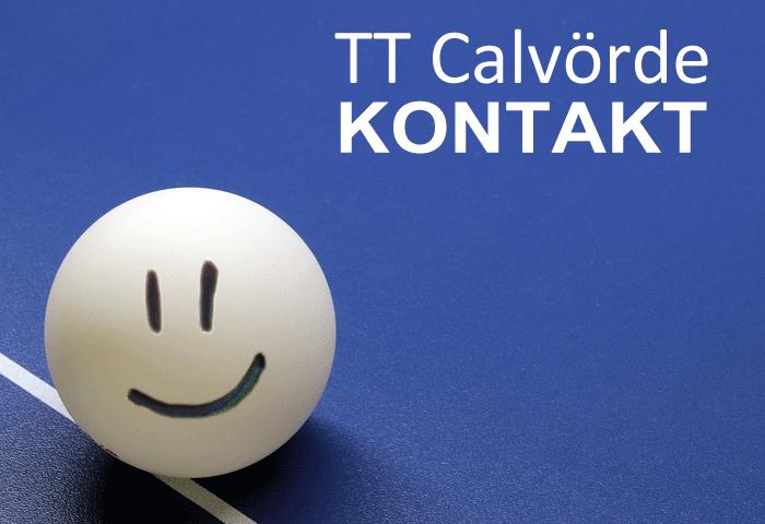 Tischtennis Verein Calvörde (Bördekreis, Sachsen-Anhalt) Kontaktaufnahme