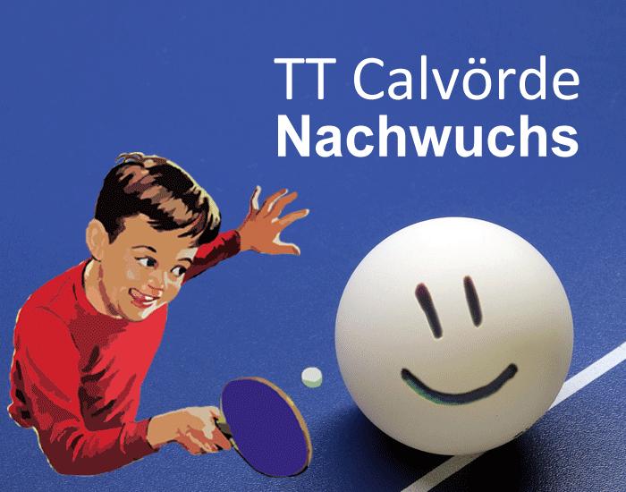 Tischtennis Verein Calvörde (Bördekreis, Sachsen-Anhalt) Nachwuchstraining Kindertraining Jugendtraining